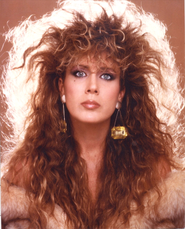 80s curly hairstyles for women